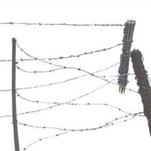 戎邦一列桩模拟铁丝网军训铁丝网拉练隔离训练器材塑包钢材质蛇腹型网
