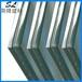 深加工玻璃厂供应50.76PVB5钢化夹胶玻璃栏杆雨棚透明夹胶玻璃