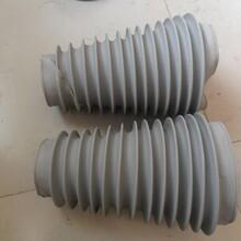 帆布伸缩软连接/钢丝通风管/阻燃软连接适用于风机进出口建筑排烟系统