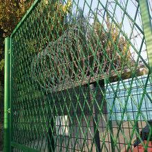 厂家直销PVC浸塑钢板网护栏网,双边丝小区围栏,经济实惠,喷塑护栏网