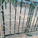 热卖羽毛球场护栏网,PVC浸塑体育护栏