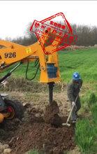 YF扬方机械挖机增装动力头不破坏原车部件轻松实现一机多用YF专业挖坑机生产扬方机械电线杆挖洞机植树绿化果树施肥