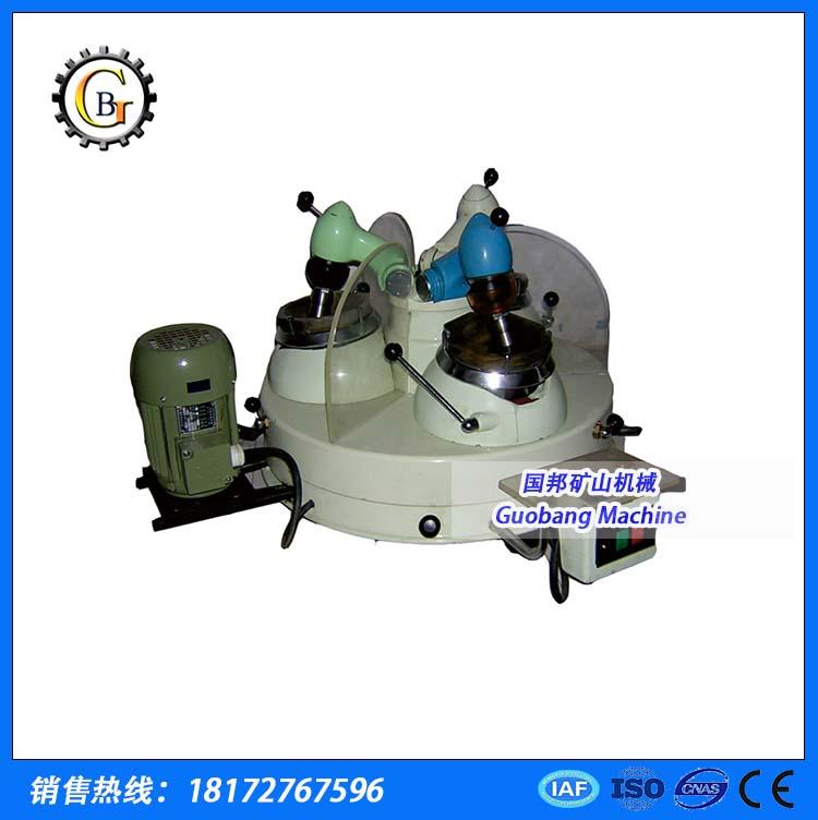 江西国邦XPM三头研磨机化验室干法研磨设备实验室选矿设备哪家专业