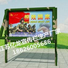 甘肃庆阳亿龙宣传栏生产批发厂家