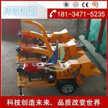 河南郑州移动式树枝木材粉碎机生产厂家图片