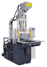 厂家直销高精密立式注塑机插头类产品包胶注塑机铭鑫机械MX-350ST射出量特大熔胶率高图片