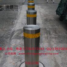 江西智能升降路桩学校阻车升降路桩遥控升降路桩单位大门挡车路桩图片