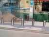 咸寧半自動升降路樁防沖撞路樁批發武漢漢口火車站升降路樁廠家