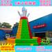 儿童游乐场充气城堡户外场地布置公园广场小孩玩具设备厂家直销