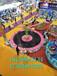 儿童游乐设备蹦极室外大型钢架折叠弹跳床双人多人器材
