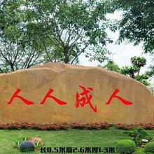 上海园林景观石厂家自然石黄蜡石