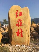 衡阳园林景观石摆放黄蜡石
