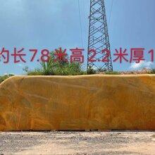 荆州景观石公司直发黄蜡石风景石