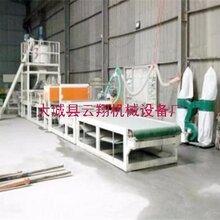 砂浆岩棉复合板设备加大了板材的生产速度与生产质量图片