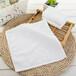 廠家直銷酒店餐廳專用擦手巾純棉方巾3535