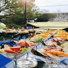 东莞婚宴自助餐、西餐位上、围餐、家具展会茶歇上门
