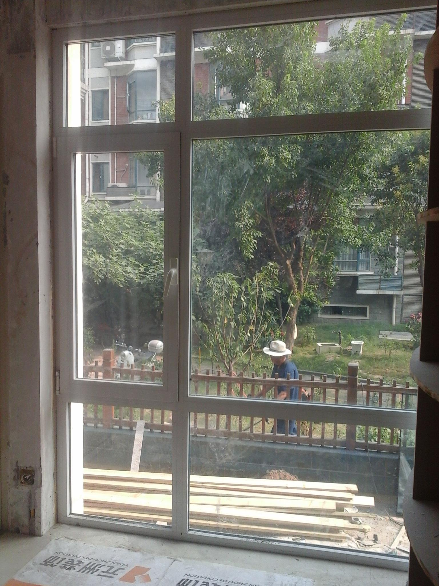 外开下悬窗安装步骤图