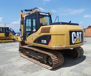卡特312D挖掘机图片