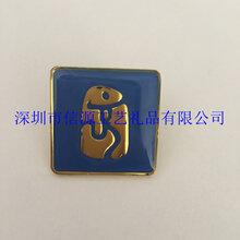 锌合金徽章制作,低价大量批发金属滴胶徽章,深圳徽章厂家图片