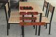 南宁供应食堂餐桌椅,南宁生产4人食堂餐桌椅,南宁连体食堂餐桌