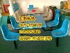 隆林縣食堂餐桌椅廠家直銷,隆林快餐桌椅圖片