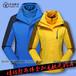 惠州厂家秋冬季冲锋衣批发内胆加外套防寒保暖冲锋衣