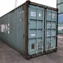 二手冷藏冷冻集装箱散货干货集装箱买卖图片