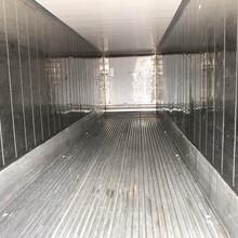二手冷冻冷藏集装箱租售,批发,改造,维修图片