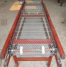 食品输送机果蔬清洗机网链输送设备链板输送机转弯机