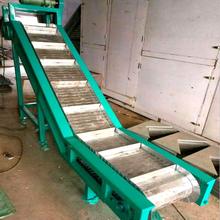 供应板链输送机不锈钢链板提升机料斗板链带输送机图片