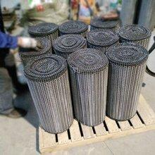 包装机网带啤酒瓶包装热收缩膜网带金属网带耐高温