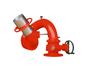 福建强盾消防供应PFG固定高倍数泡沫灭火装置