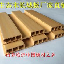 苏州生态木长城板厂家图片