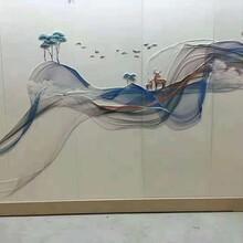 焦作酒店大堂3D/5D背景墻圖片