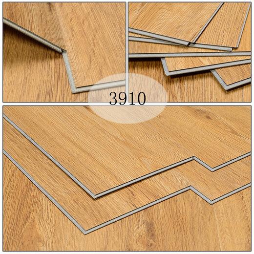 黄石环保耐磨石塑锁扣地板安装效果