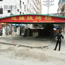 上海戶外大排檔帳篷抗8級大風圖片