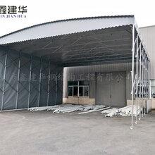 扬州折叠物流伸缩雨棚承重力强,活动伸缩雨棚价格图片