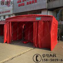 上海折叠物流伸缩雨棚报价,大型伸缩雨棚厂家图片