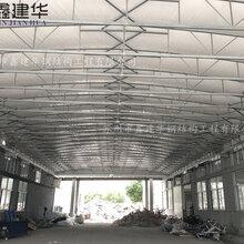 南京物流电动雨棚抗8级大风,推拉雨棚厂家图片