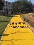 誉臻透水混凝土彩色透水路面铺装助力北京海绵城市建设图片