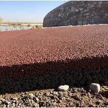 兰州透水混凝土路面施工厂家直供材料低价图片