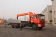 昊天全新12吨5节臂随车吊厂家12吨伸缩臂吊机