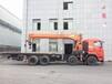 湖南昊天最长臂18吨随车吊带小钩厂家价格U形臂设计美观耐用