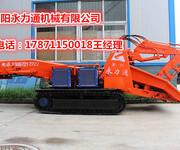 秦安120型履带扒渣机隧道挖掘扒渣机图片