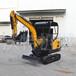 汽油驾驶履带挖掘机座驾式农用小型挖掘机
