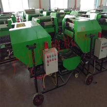 青储饲料打捆包膜机牛羊饲料青贮打包机密封性强储存时间长运输方便图片