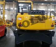 供应田舍型橡胶履带小挖机DLS822-9B图片