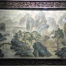 山水瓷板画价位一般多少钱图片
