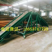 建筑工地沙石料场输送机袋装化肥输送机图片