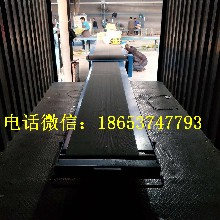 小型裝車輸送機不銹鋼防腐哈爾濱移動式膠帶輸送機濱州圖片
